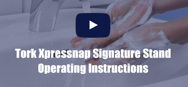 Tork Xpressnap Signature Stand Operating Instructions